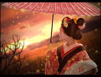 Geisha's Dream by Doucesse