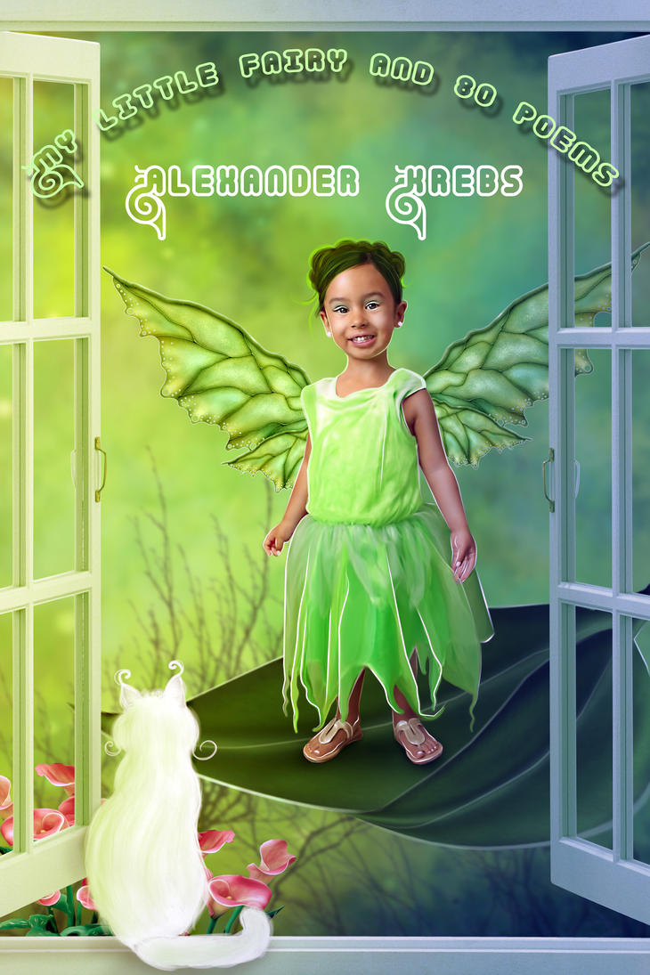 My Little Fairy and 80 poems BOOK COVER COMMISSION by Doucesse