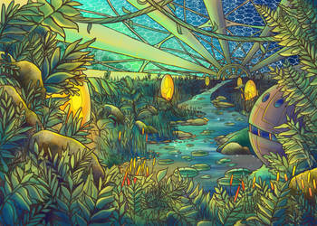 Space Greenhouse by Jx041896
