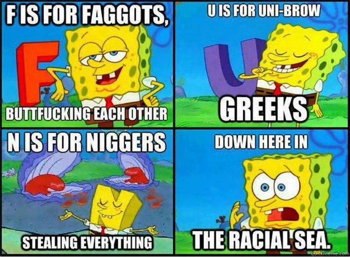 Racist Spongebob