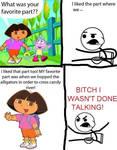 Dora The Explorer Sucks ASS!!!