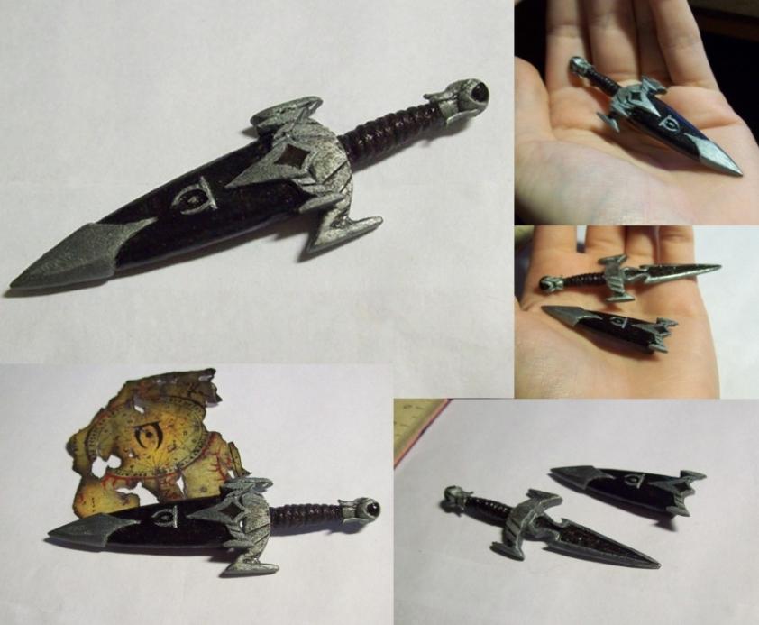 TES V: Skyrim - Mehrunes' Razor mini by Sereniti-Dragonheart
