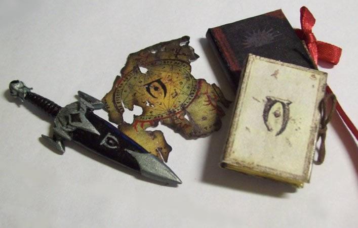 Skyrim miniatures I: Mythic Dawn by Sereniti-Dragonheart