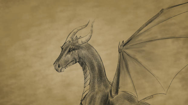 Rough Sketch || Dragon
