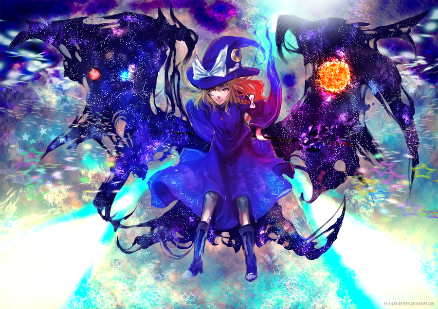 Witch of Space by Shinigamiwyvern