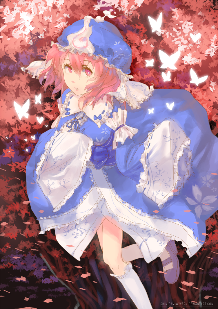 Sakura Night by Shinigamiwyvern
