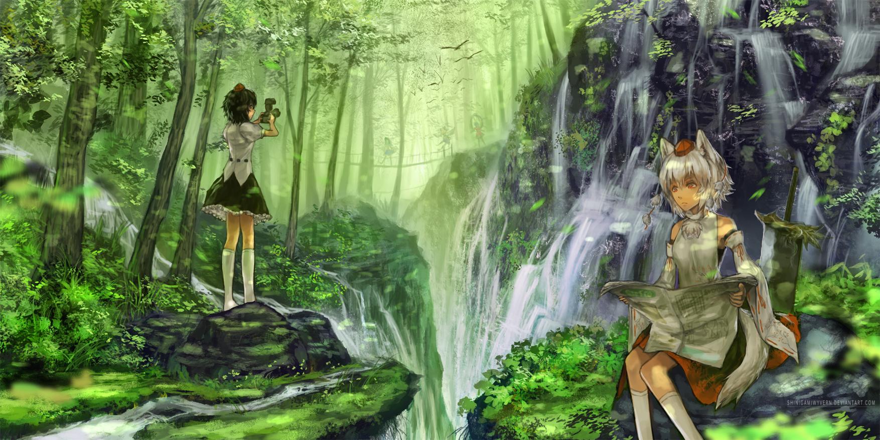 Quiet Fall by Shinigamiwyvern