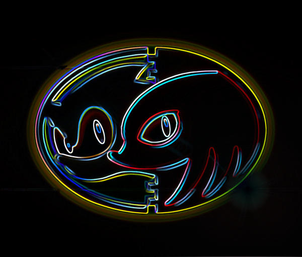 neon fox wallpaper - photo #31
