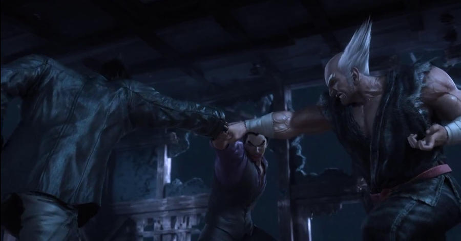 Kazuya Vs Jin Vs Heihachi Tekken Blood Vengence By Shabaazkhan On