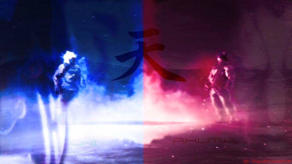 Oni vs Akuma Wallpaper by ShabaazKhanOni Wallpaper
