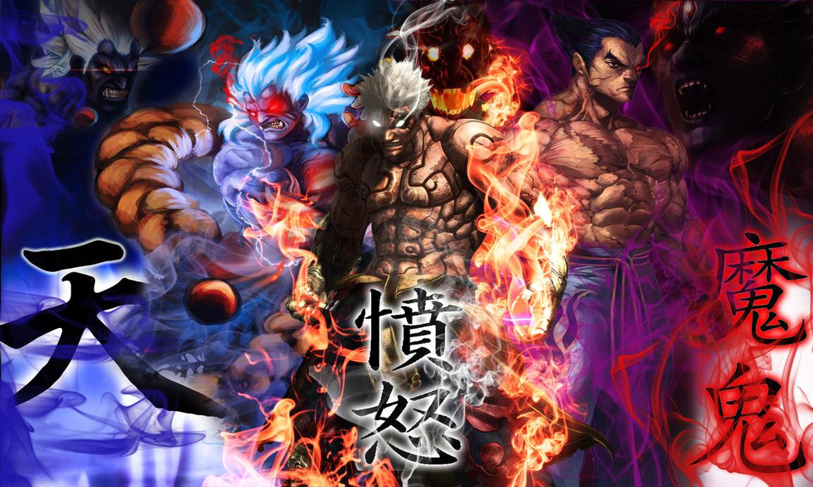 Oni Asura Kazuya Smoke Wallpaper by ShabaazKhanOni Wallpaper