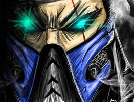 Subzero Quick sketch by ShabaazKhan