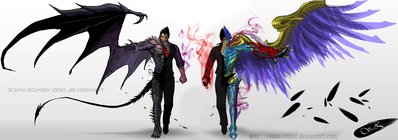 Devil Kazuya Devil Jin Twin Vengeance By Shabaazkhan On Deviantart