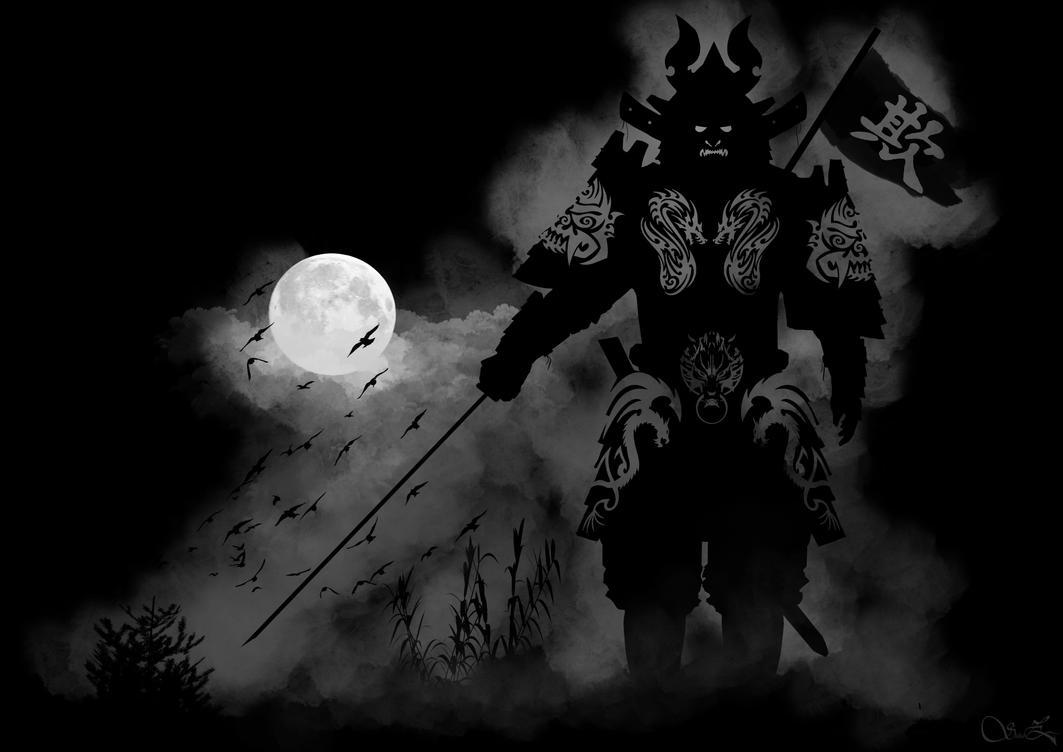 Samurai Ghost Warrior by ShabaazKhan