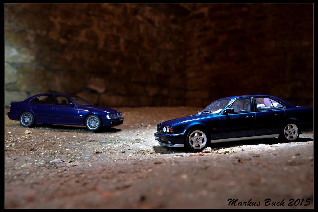 BMW E39 M5 + E34 M5 by HobbyFotograf