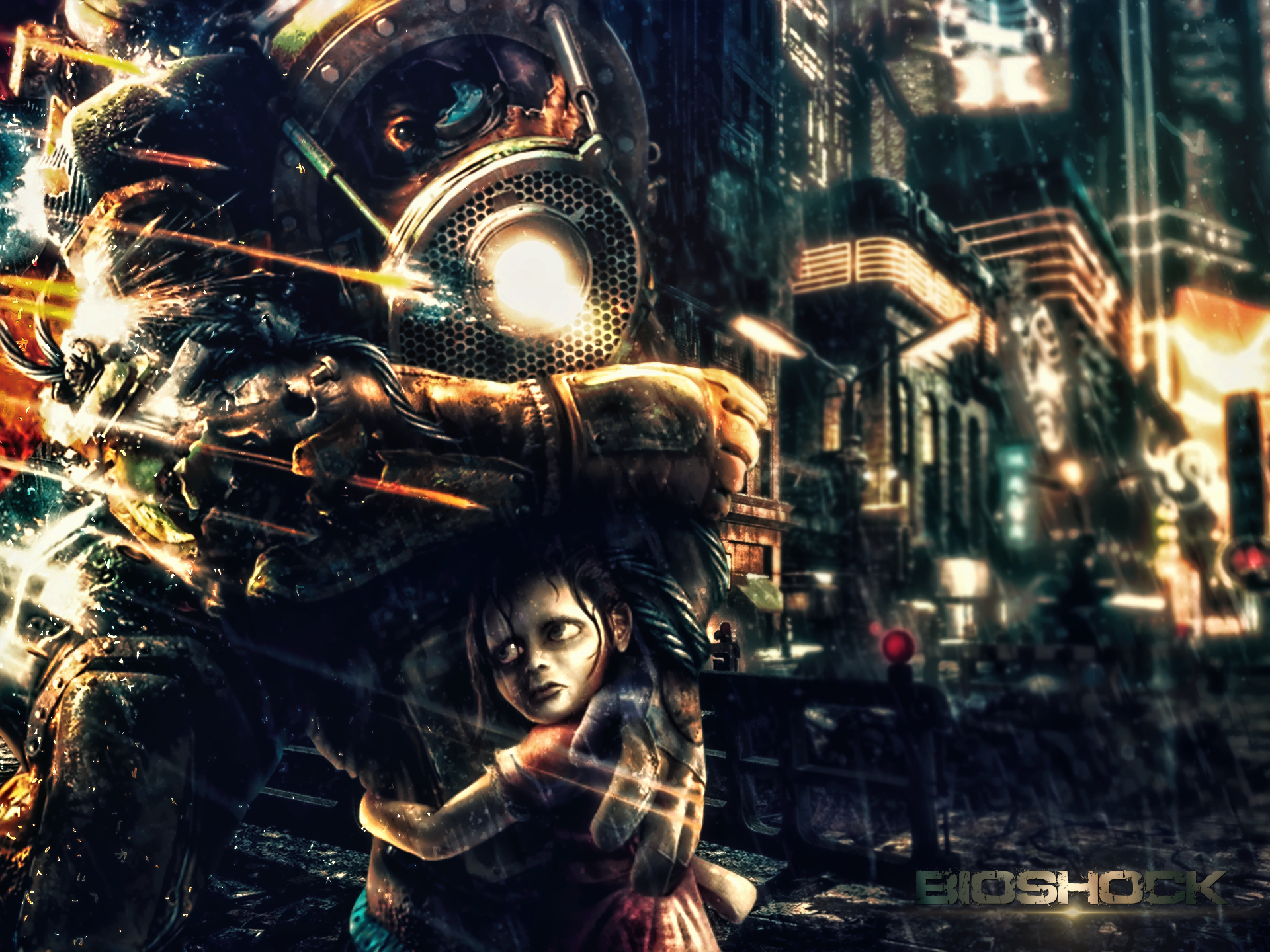 Bioshock by Nushulica