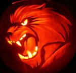 Werewolf Pumpkin by ChaosKomori