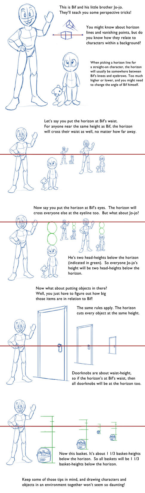 Some Perspective Tips by ChaosKomori
