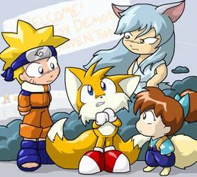A Fox among Demons by ChaosKomori