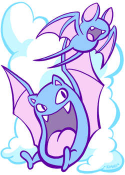 Zubats and Clouds