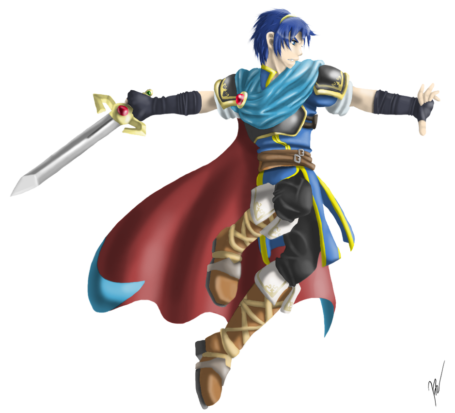 Marth by EmilyKiwi