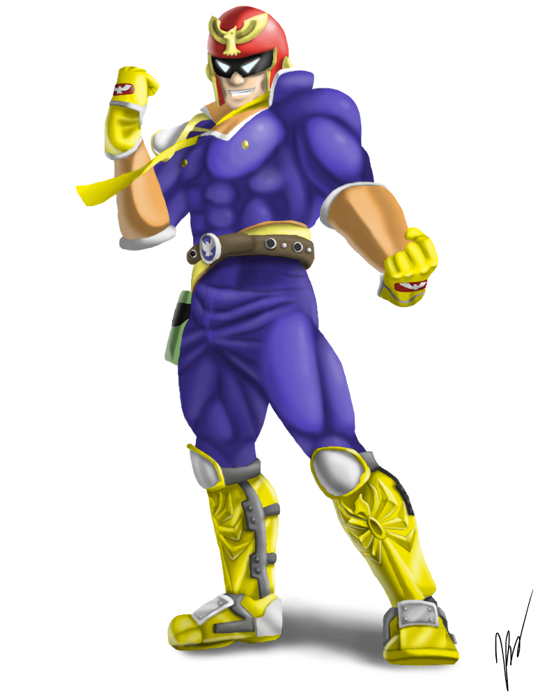 Captain Falcon by EmilyKiwi