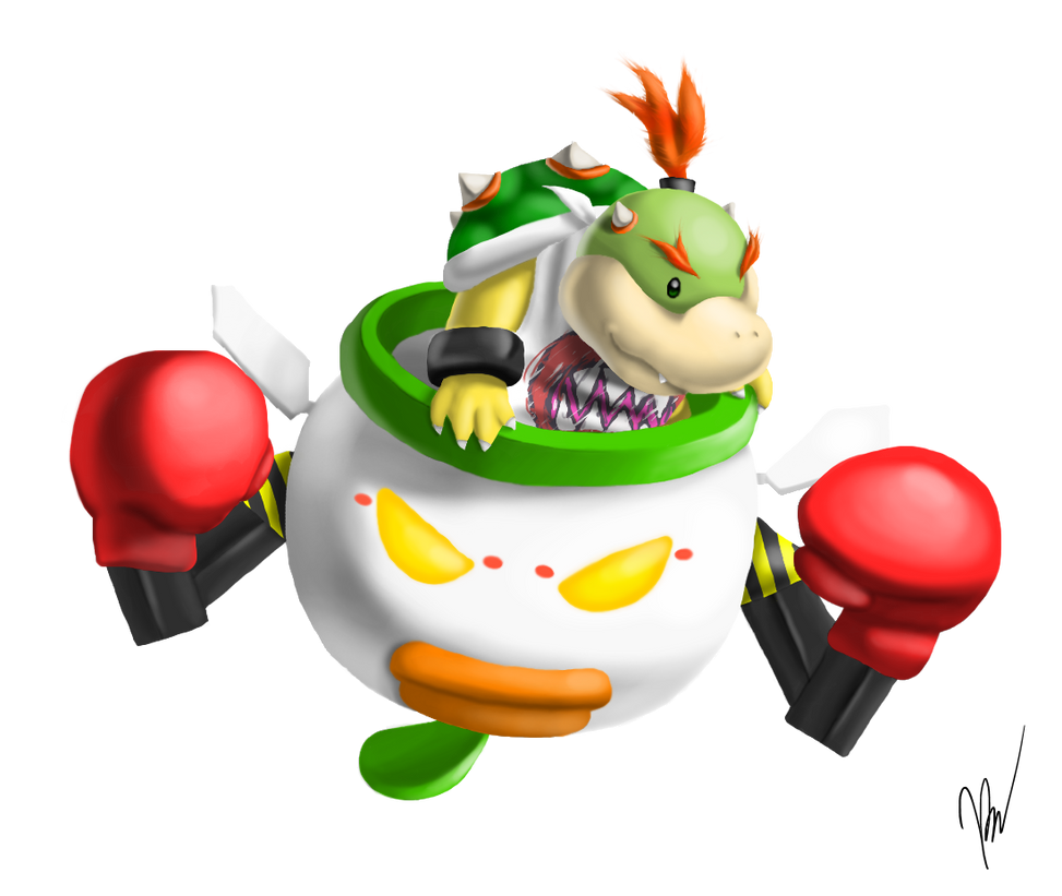 Bowser Jr. by EmilyKiwi