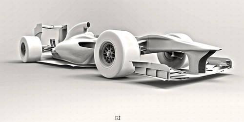 F1 Car * View Detail by bgursoy