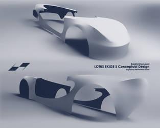 Lotus Exige S Conceptual Design * wip1 by bgursoy