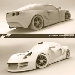 Lotus Exige S Conceptual Design * wip3 by bgursoy
