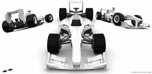 Formula One Car Design [Additional Poses] by bgursoy