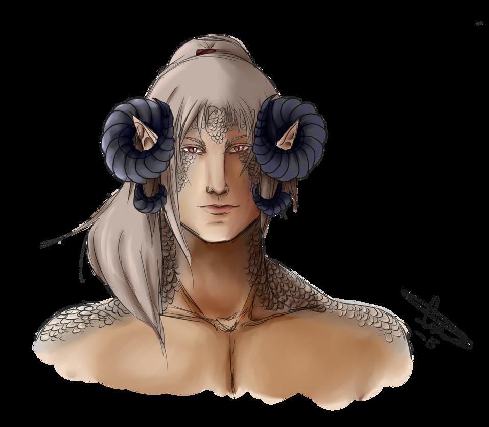 MA: Lucius Aponus by Wingl3ssGuardian