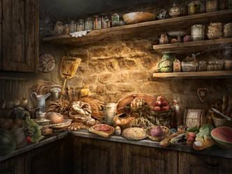 kitchen by olga-idealist