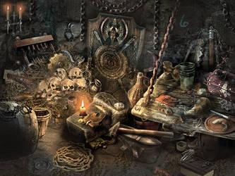 dungeon by olga-idealist