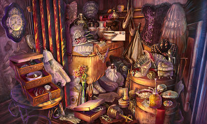 Dressing room by olga-idealist