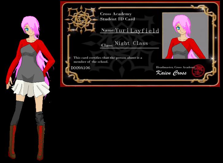Yuri Layfield[Vampire Knight ID] by zZLazyWolfZz