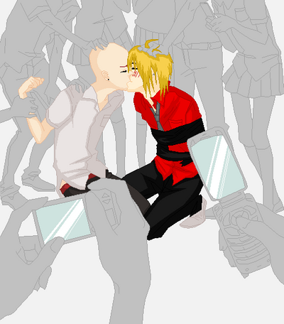 Now Kiss Dante! by zZLazyWolfZz