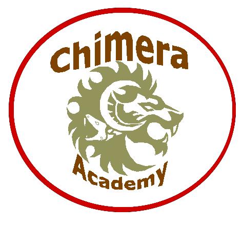 Chimera Academy's Logo! by zZLazyWolfZz