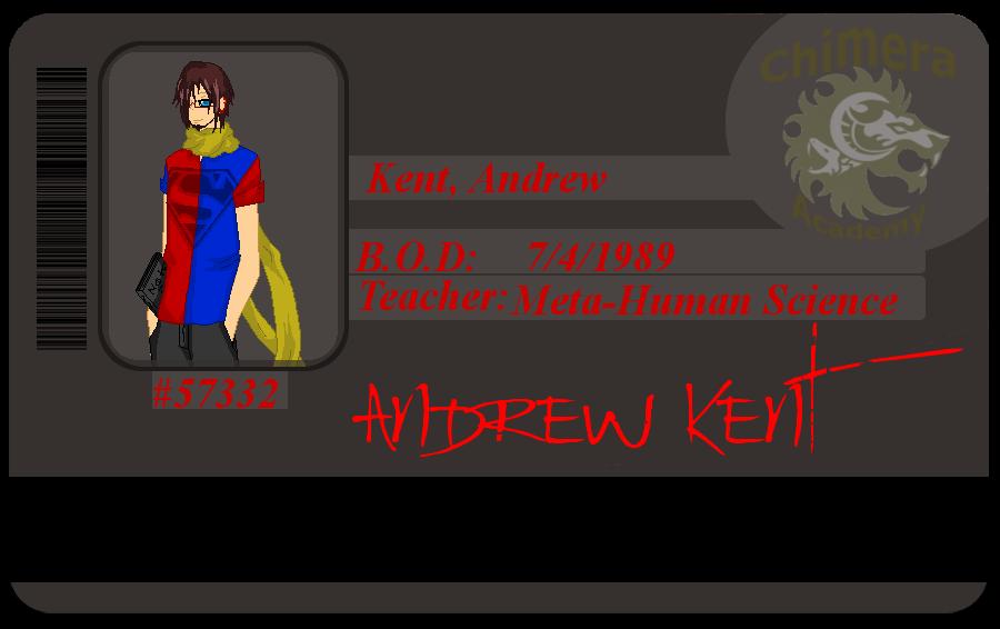 Kent, Andrew ID card by zZLazyWolfZz