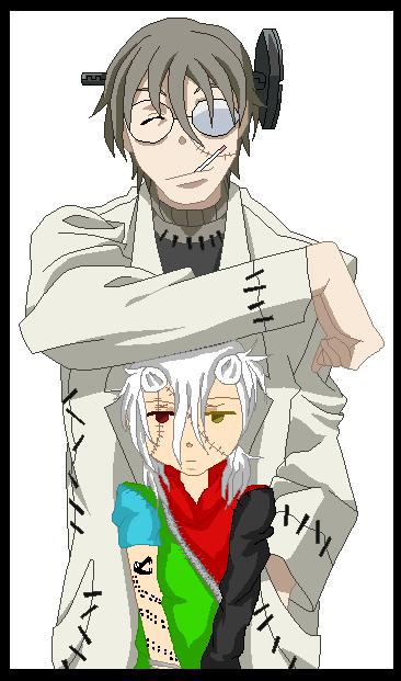 Stein and Yumi! by zZLazyWolfZz