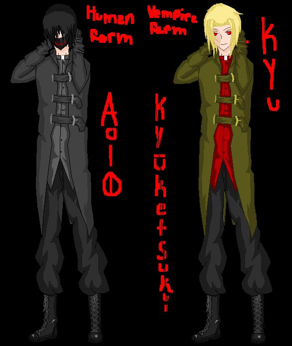 Aio's forms by zZLazyWolfZz