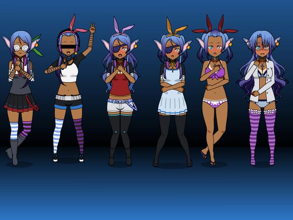 Kiyo's Cloths  by zZLazyWolfZz