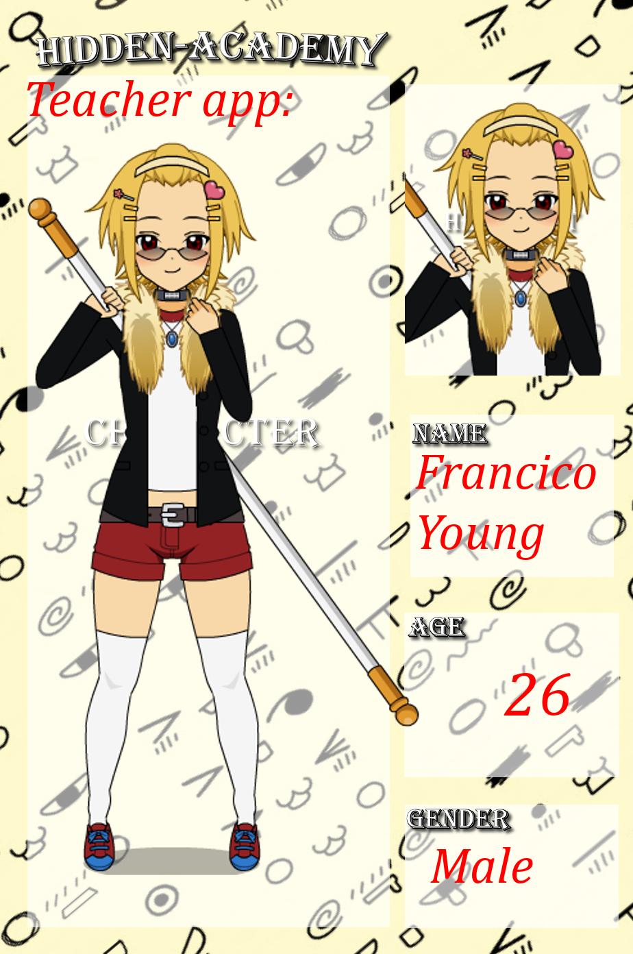   Francico Young   by zZLazyWolfZz