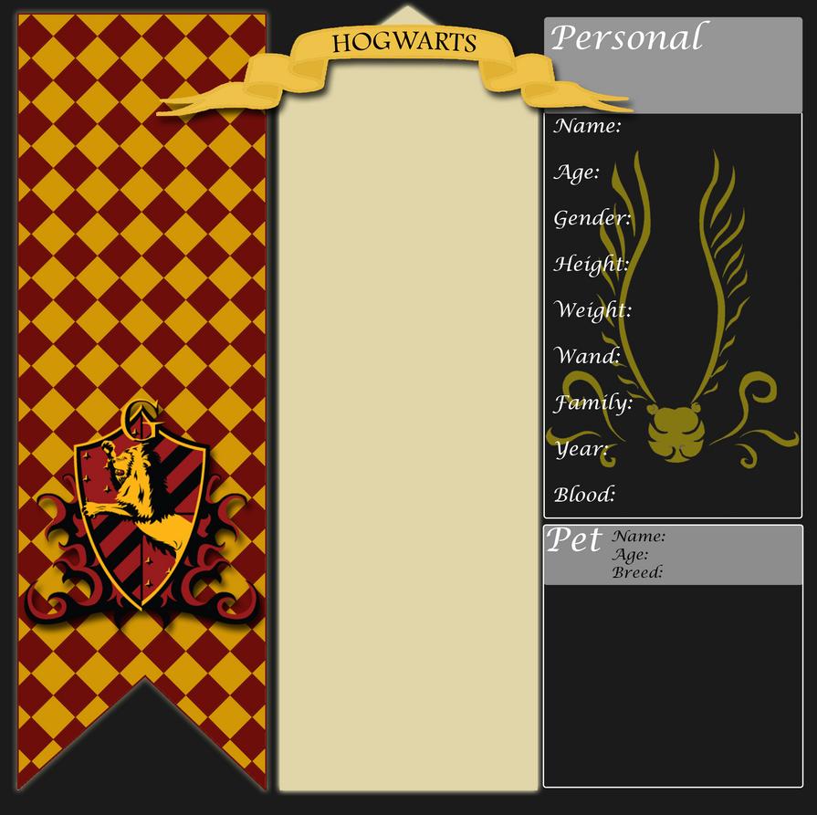 | Gryffindor App | by zZLazyWolfZz