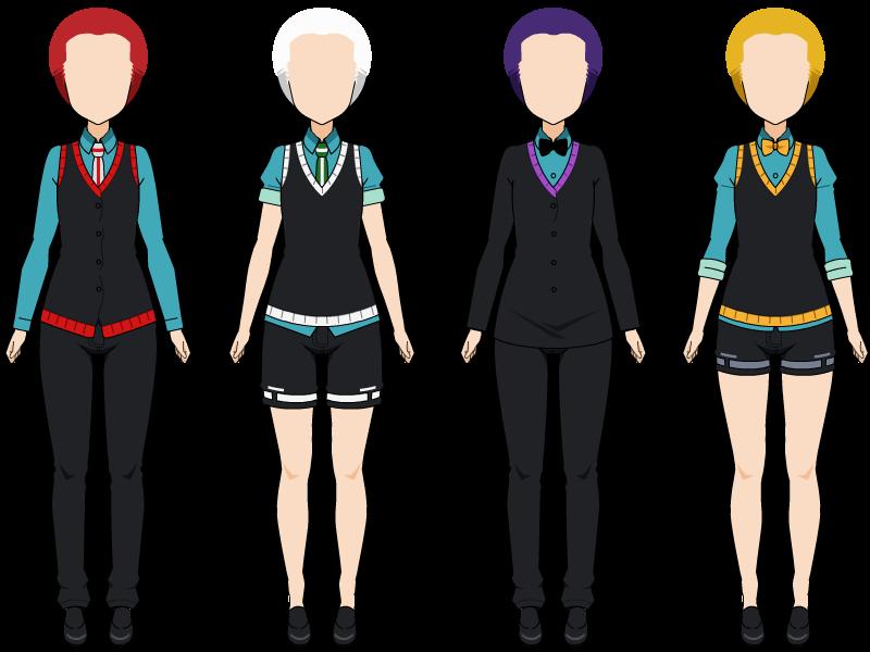 Boy Uniforms by zZLazyWolfZz