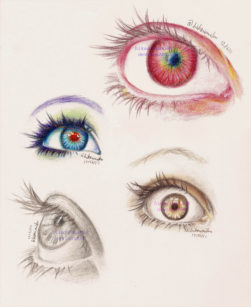 Eyes by hikariXmiku
