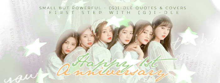 2019.May.1st //ONE YEAR WITH (G)I-DLE
