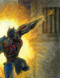 Optimus Prime by DARIA3198