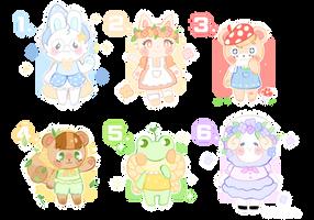 Animal Crossing batch by Mikafalala
