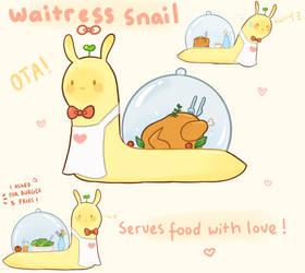 [CLOSED] Waitress Snail Adopt